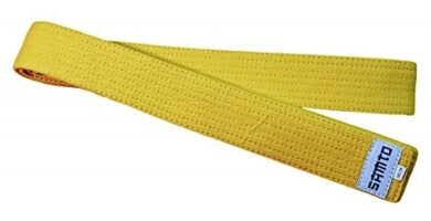 Cinturon amarillo aikido