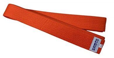 Cinturon naranja aikido