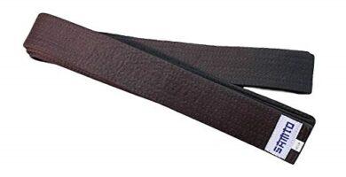 Cinturón marrón aikido