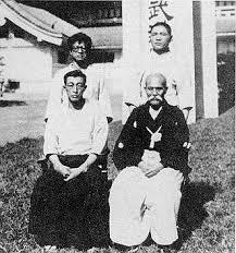Kenji Tomiki, Hideo Ohba, Ueshiba Sensei