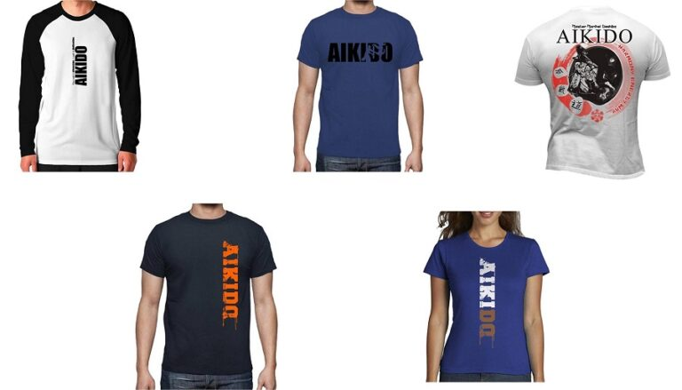 Camisetas Aikido