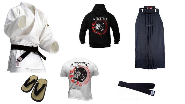 Equipamiento para la practica del aikido