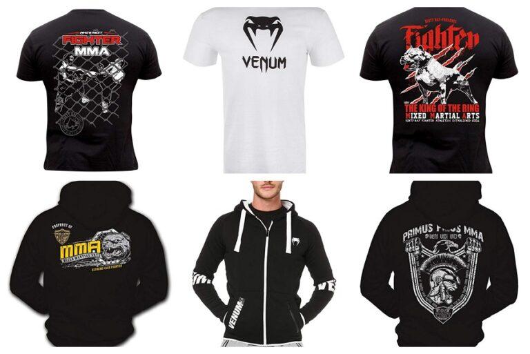 Camisetas y sudaderas MMA