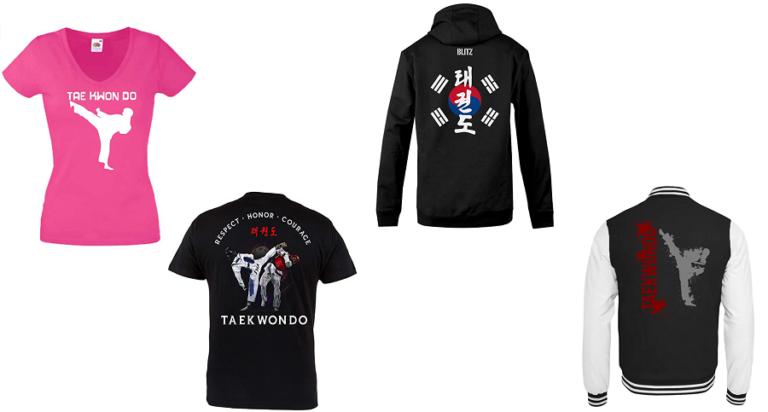 Camisetas y sudaderas de Taekwondo