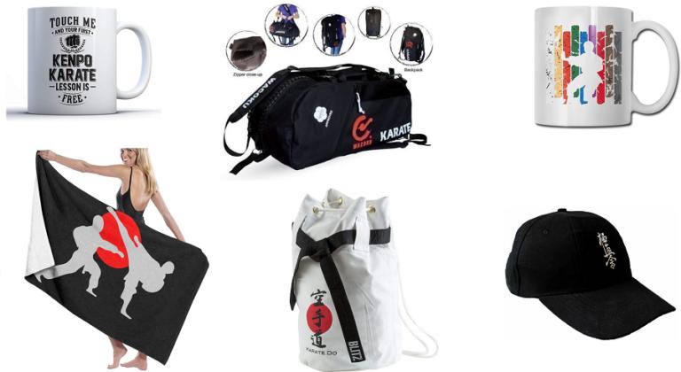 Complementos y accesorios de karate